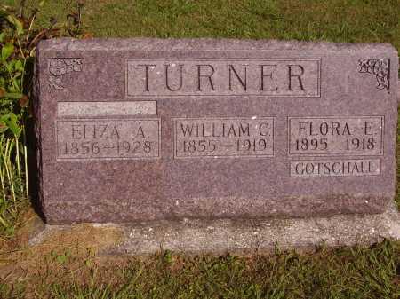 GOTSCHALL TURNER, FLORA E. - Meigs County, Ohio | FLORA E. GOTSCHALL TURNER - Ohio Gravestone Photos