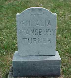 STANSBURY TURNER, EULALIA - Meigs County, Ohio | EULALIA STANSBURY TURNER - Ohio Gravestone Photos
