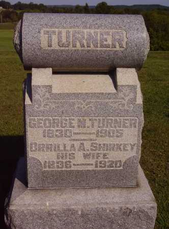 TURNER, GEORGE MCKEE - Meigs County, Ohio | GEORGE MCKEE TURNER - Ohio Gravestone Photos