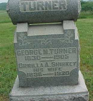 TURNER, GEORGE M. - Meigs County, Ohio | GEORGE M. TURNER - Ohio Gravestone Photos