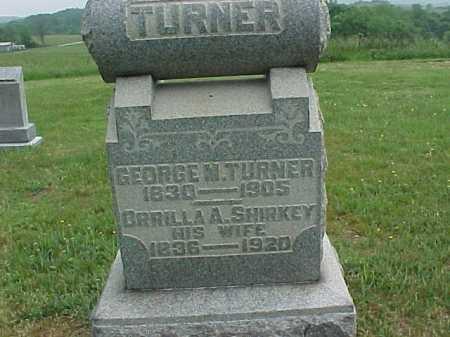 SHIRKEY TURNER, ORRILLA A. - Meigs County, Ohio   ORRILLA A. SHIRKEY TURNER - Ohio Gravestone Photos