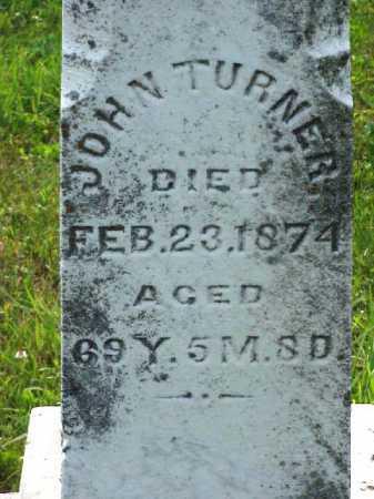 TURNER, JOHN - Meigs County, Ohio   JOHN TURNER - Ohio Gravestone Photos