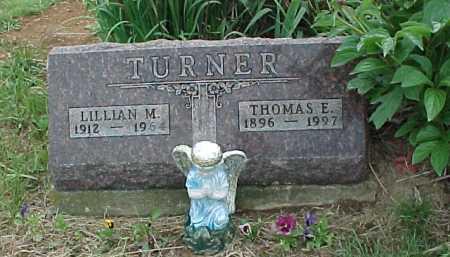 TURNER, LILLIAN M. - Meigs County, Ohio | LILLIAN M. TURNER - Ohio Gravestone Photos