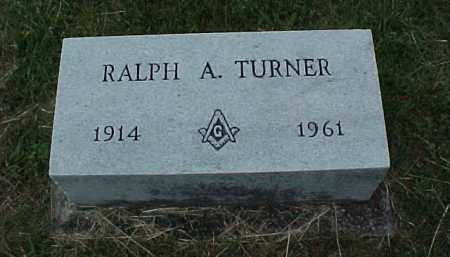 TURNER, RALPH A. - Meigs County, Ohio   RALPH A. TURNER - Ohio Gravestone Photos