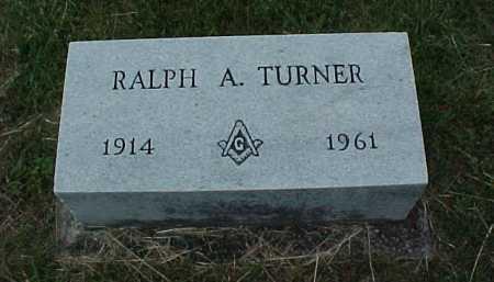 TURNER, RALPH A. - Meigs County, Ohio | RALPH A. TURNER - Ohio Gravestone Photos