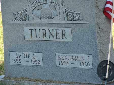 TURNER, SADIE S - Meigs County, Ohio   SADIE S TURNER - Ohio Gravestone Photos