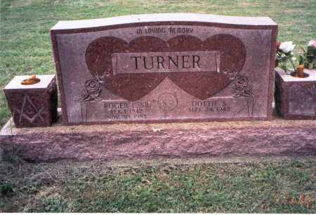 TURNER, SR., ROGER - Meigs County, Ohio | ROGER TURNER, SR. - Ohio Gravestone Photos