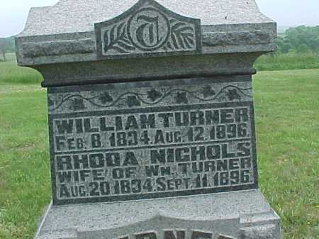 TURNER, WILLIAM - Meigs County, Ohio | WILLIAM TURNER - Ohio Gravestone Photos