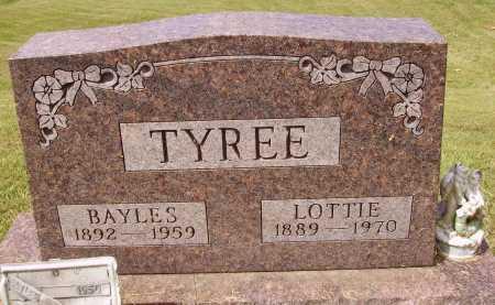 TYREE, LOTTIE - Meigs County, Ohio | LOTTIE TYREE - Ohio Gravestone Photos