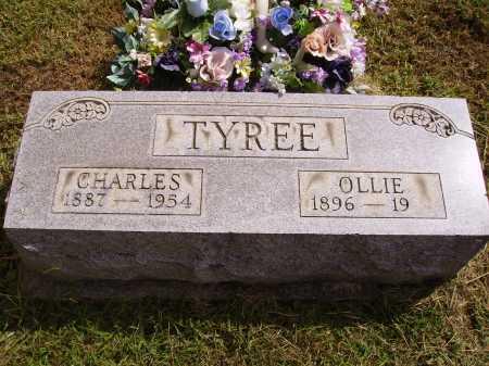 TYREE, OLLIE - Meigs County, Ohio | OLLIE TYREE - Ohio Gravestone Photos