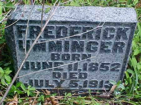 UMMINGER, FREDERICK - Meigs County, Ohio | FREDERICK UMMINGER - Ohio Gravestone Photos
