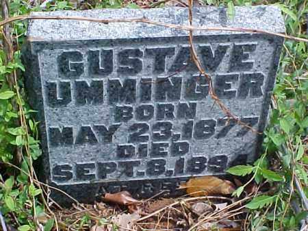 UMMINGER, GUSTAVE - Meigs County, Ohio | GUSTAVE UMMINGER - Ohio Gravestone Photos