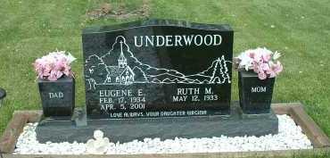 UNDERWOOD, EUGENE E. - Meigs County, Ohio   EUGENE E. UNDERWOOD - Ohio Gravestone Photos