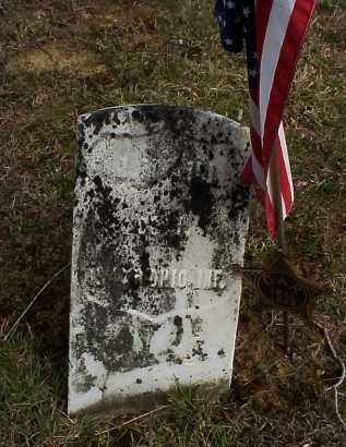 UNKNOWN, CIVIL WAR SOLDIER - Meigs County, Ohio | CIVIL WAR SOLDIER UNKNOWN - Ohio Gravestone Photos