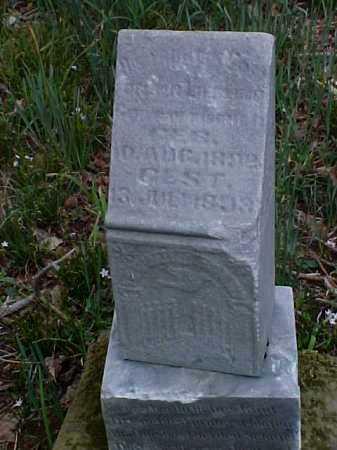 UNKNOWN, INFANT - Meigs County, Ohio   INFANT UNKNOWN - Ohio Gravestone Photos