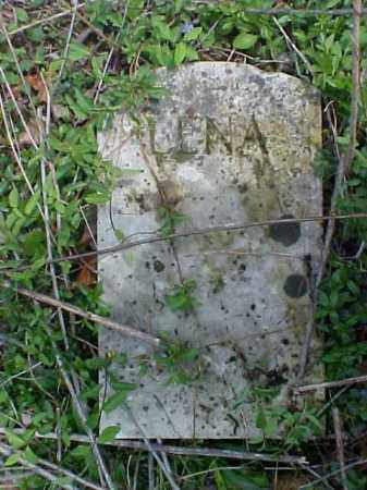 UNKNOWN, LENA - Meigs County, Ohio   LENA UNKNOWN - Ohio Gravestone Photos