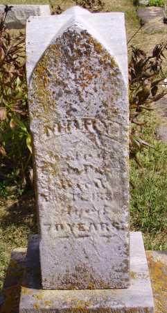 UNKNOWN, MARY - Meigs County, Ohio | MARY UNKNOWN - Ohio Gravestone Photos