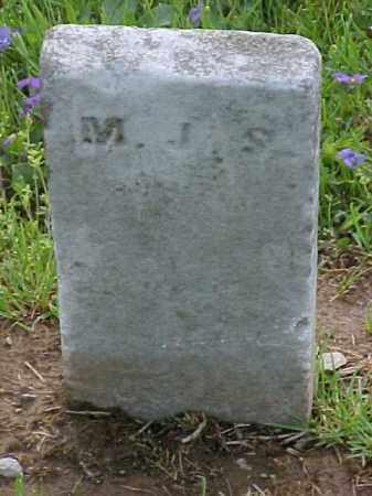 UNKNOWN, M. J. S. - Meigs County, Ohio | M. J. S. UNKNOWN - Ohio Gravestone Photos