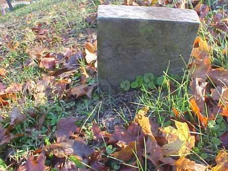 UNKNOWN, STONE - Meigs County, Ohio | STONE UNKNOWN - Ohio Gravestone Photos