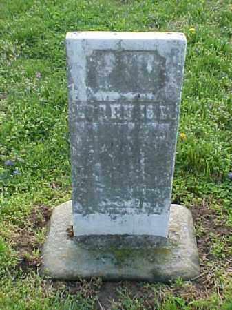 UNREADABLE, STONE - Meigs County, Ohio   STONE UNREADABLE - Ohio Gravestone Photos