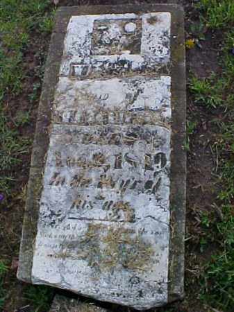 UNREADABLE, STONE - Meigs County, Ohio | STONE UNREADABLE - Ohio Gravestone Photos