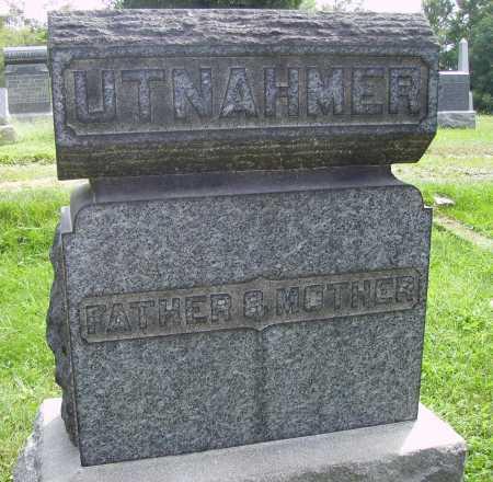 UTNAHMER, FATHER & MOTHER - Meigs County, Ohio | FATHER & MOTHER UTNAHMER - Ohio Gravestone Photos