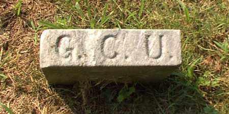 UTNAHMER, G.C.U. - Meigs County, Ohio | G.C.U. UTNAHMER - Ohio Gravestone Photos