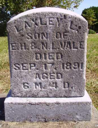 VALE, LAXLEY L. - Meigs County, Ohio | LAXLEY L. VALE - Ohio Gravestone Photos