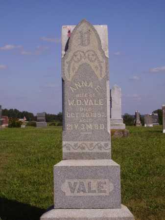 OGDIN VALE, ANNA E. - Meigs County, Ohio   ANNA E. OGDIN VALE - Ohio Gravestone Photos