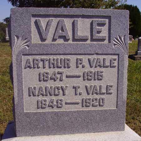 VALE, ARTHUR P. - Meigs County, Ohio | ARTHUR P. VALE - Ohio Gravestone Photos
