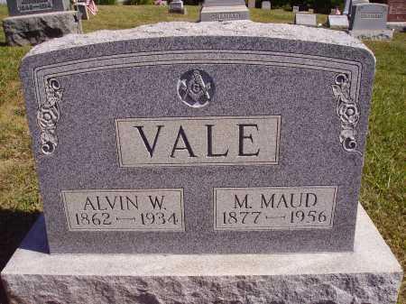 VALE, M. MAUD - Meigs County, Ohio | M. MAUD VALE - Ohio Gravestone Photos