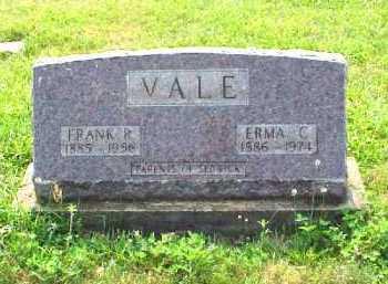 VALE, ERMA C. - Meigs County, Ohio | ERMA C. VALE - Ohio Gravestone Photos