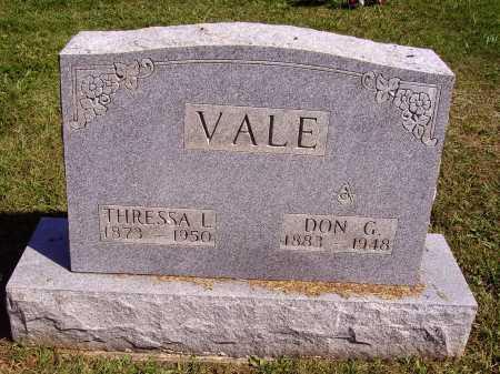 VALE, DON GROSVENOR - Meigs County, Ohio | DON GROSVENOR VALE - Ohio Gravestone Photos