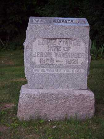 VANBIBBER, LOUIE - Meigs County, Ohio | LOUIE VANBIBBER - Ohio Gravestone Photos