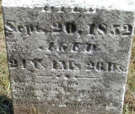 VANBIBBER, MARY A. [BOTTOM OF STONE] - Meigs County, Ohio | MARY A. [BOTTOM OF STONE] VANBIBBER - Ohio Gravestone Photos