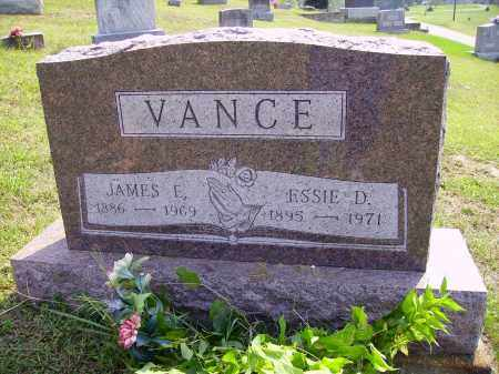 VANCE, JAMES E. - Meigs County, Ohio | JAMES E. VANCE - Ohio Gravestone Photos