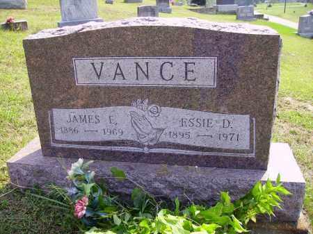 DAVIS VANCE, ESSIE - Meigs County, Ohio | ESSIE DAVIS VANCE - Ohio Gravestone Photos
