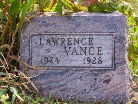VANCE, LAWRENCE - Meigs County, Ohio | LAWRENCE VANCE - Ohio Gravestone Photos
