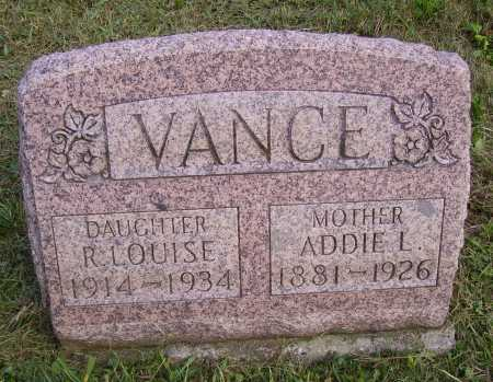 IRWIN VANCE, ADELENE ADDIE L. - Meigs County, Ohio | ADELENE ADDIE L. IRWIN VANCE - Ohio Gravestone Photos