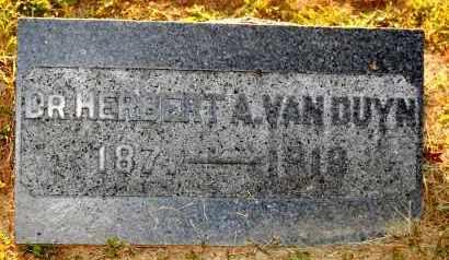 VANDUYN, HERBERT A. - Meigs County, Ohio | HERBERT A. VANDUYN - Ohio Gravestone Photos
