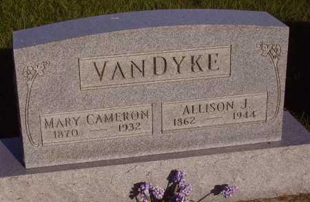 VANDYKE, MARY CAMERON - Meigs County, Ohio | MARY CAMERON VANDYKE - Ohio Gravestone Photos