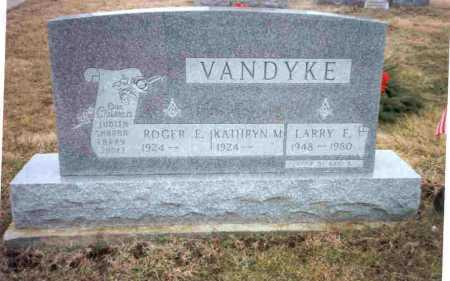 VANDYKE, ROGER E. - Meigs County, Ohio | ROGER E. VANDYKE - Ohio Gravestone Photos