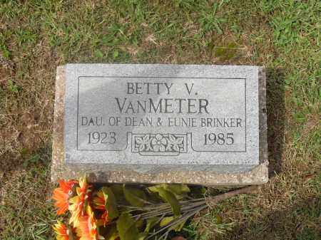 BRINKER VANMETER, BETTY V. - Meigs County, Ohio | BETTY V. BRINKER VANMETER - Ohio Gravestone Photos
