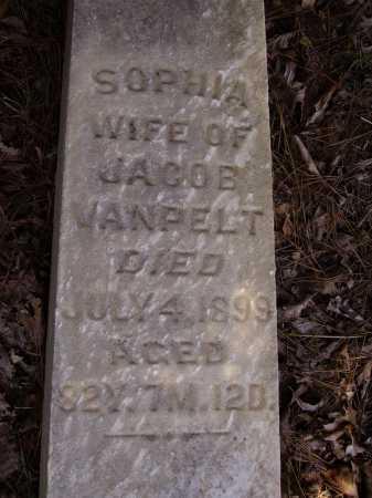 VANPELT, SOPHIA - CLOSEVIEW - Meigs County, Ohio | SOPHIA - CLOSEVIEW VANPELT - Ohio Gravestone Photos