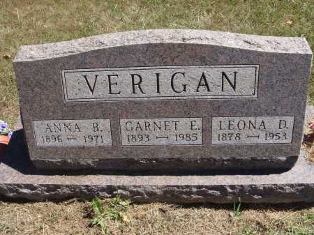 VERIGAN, GARNET E. - Meigs County, Ohio | GARNET E. VERIGAN - Ohio Gravestone Photos