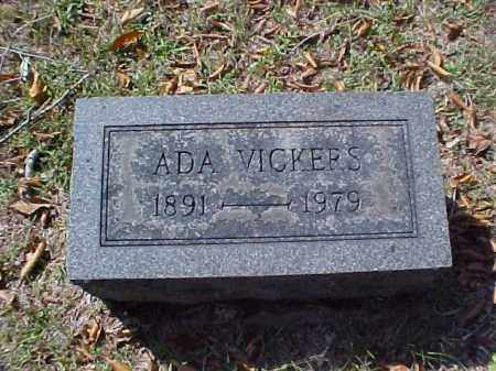 VICKERS, ADA - Meigs County, Ohio | ADA VICKERS - Ohio Gravestone Photos