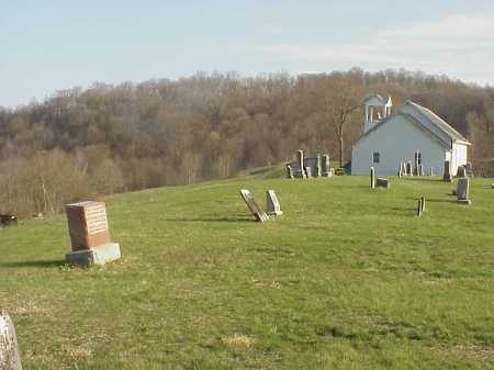 CARLETON CHURCH,  - Meigs County, Ohio |  CARLETON CHURCH - Ohio Gravestone Photos