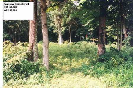 FAIRVIEW II CEMETERY,  - Meigs County, Ohio |  FAIRVIEW II CEMETERY - Ohio Gravestone Photos