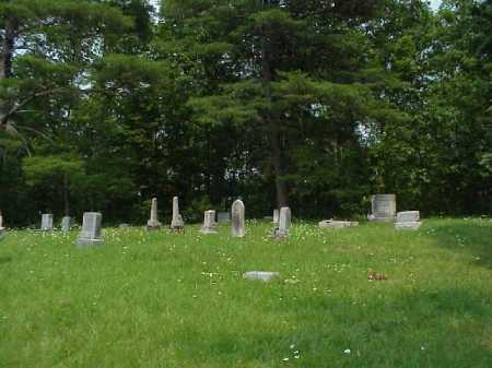 HUGG CEMETERY, VIEW 2 - Meigs County, Ohio | VIEW 2 HUGG CEMETERY - Ohio Gravestone Photos
