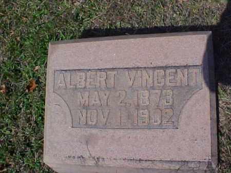 VINCENT, ALBERT - Meigs County, Ohio | ALBERT VINCENT - Ohio Gravestone Photos